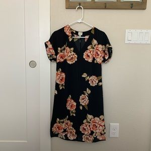 A New Day Floral Shift Dress